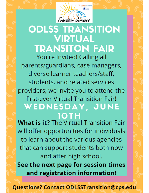 ODLSS VIRTUAL TRANSITION FAIR Featured Photo
