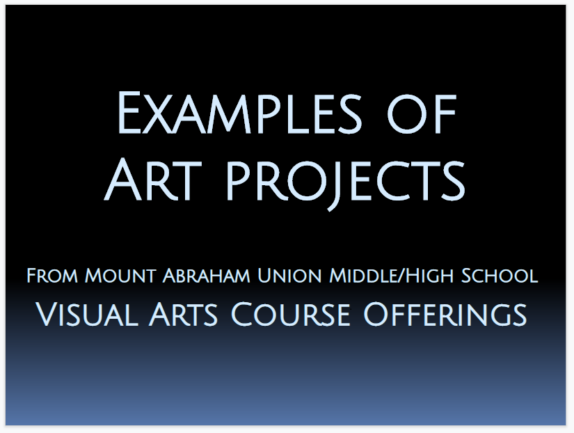 Mt. Abe Art Projects
