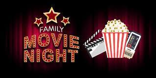 Family Movie Night announcement