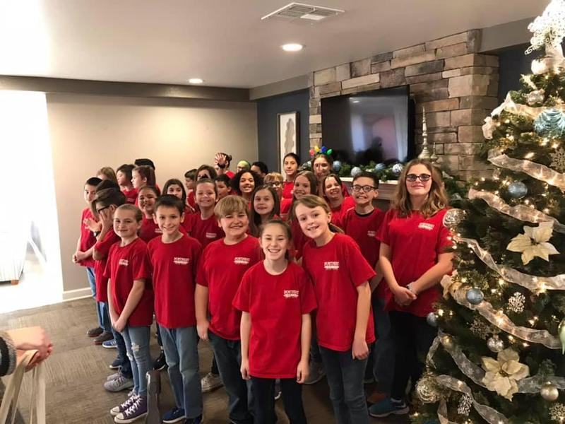Honor Choir Kids at Baptist Village