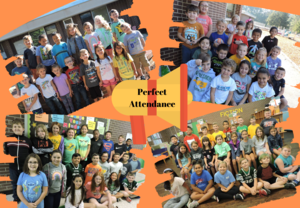 Students with perfect attendance for September