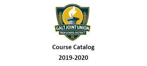 GJUHSD Course Catalog 2019-2020 Thumbnail Image