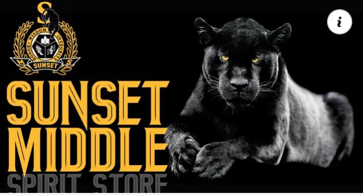 Sunset Middle Spirit Store Logo