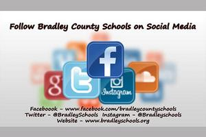Follow Bradley County Schools on Social Media