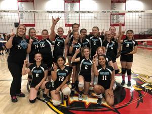 DMS JV Girls Volleyball Team