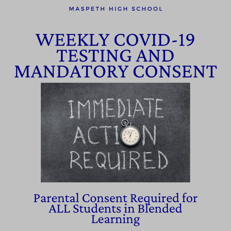 Weekly COVID-19 Testing and Mandatory Consent