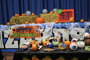 Lots more creatively decorated pumpkins at Wilson's Pumpkin Patch tradition.