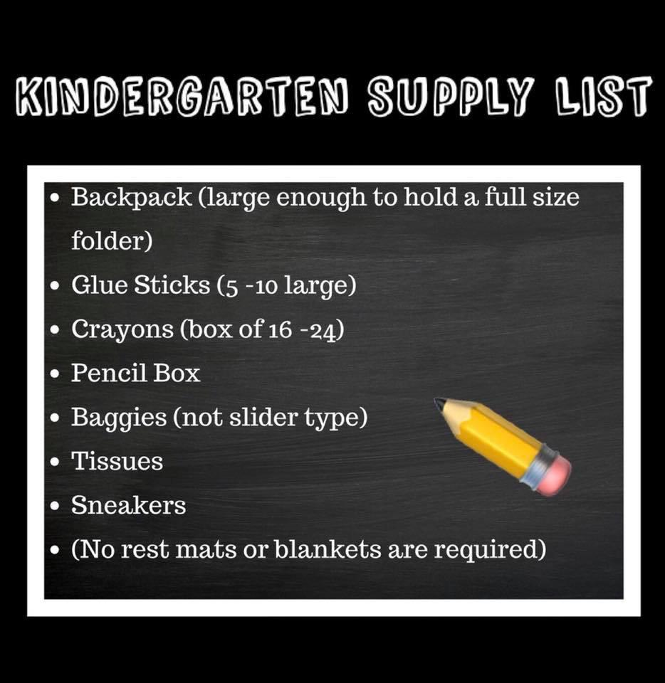 Supply List 4