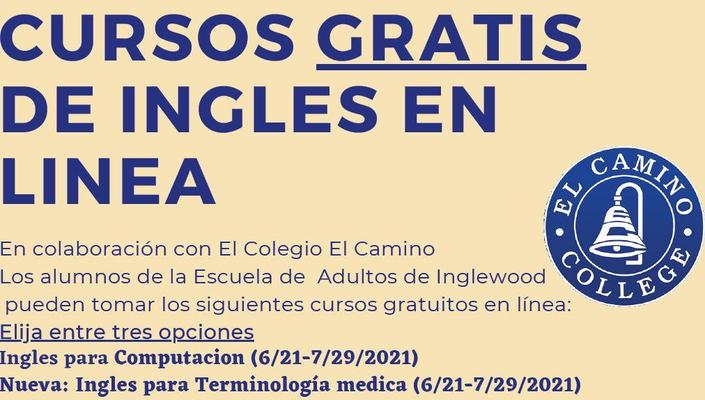 El Camino College Summer Classes SP