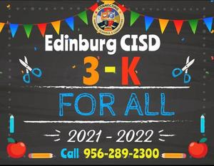 Pre-K 3 For All