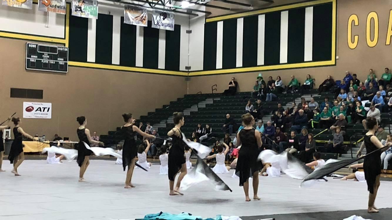Coalers Host Poms Competition