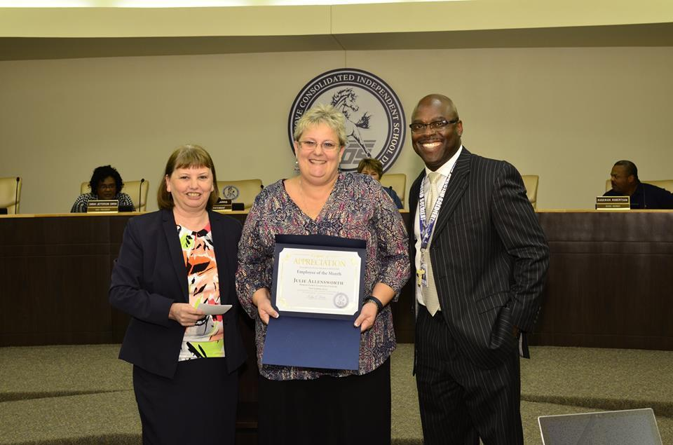 Julie Allensworth Employee of the month November