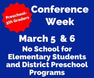 conference week no elem school march 5-6.png