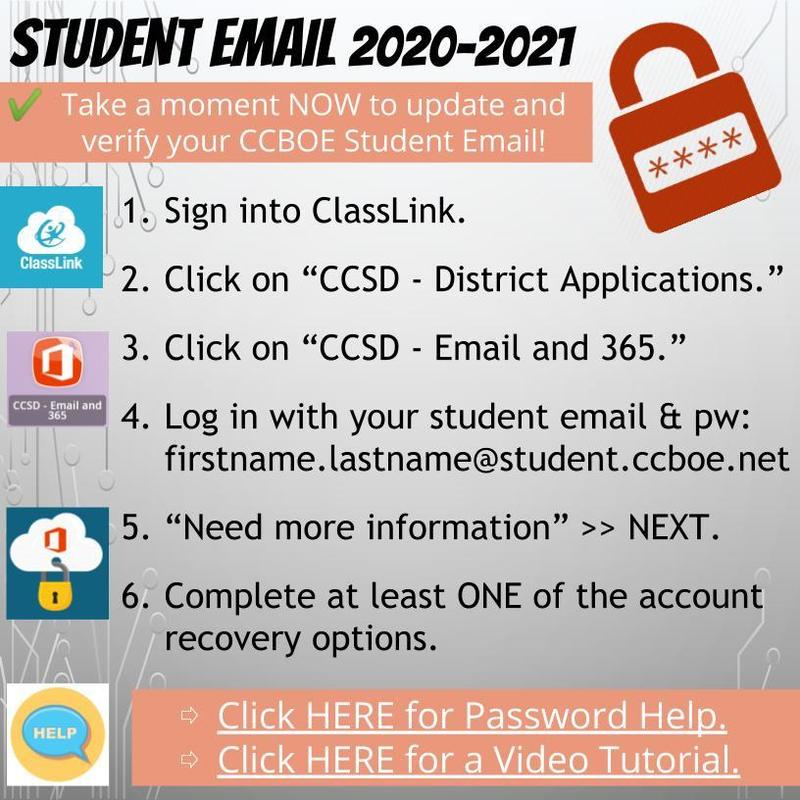 Student Email 2020-2021