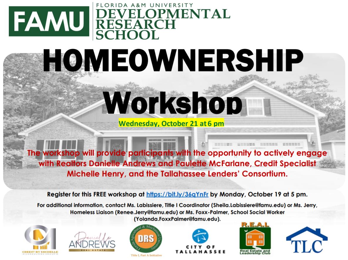Homeownership Workshop Flyer