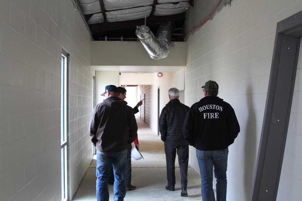 Construction photos of new pre-k building