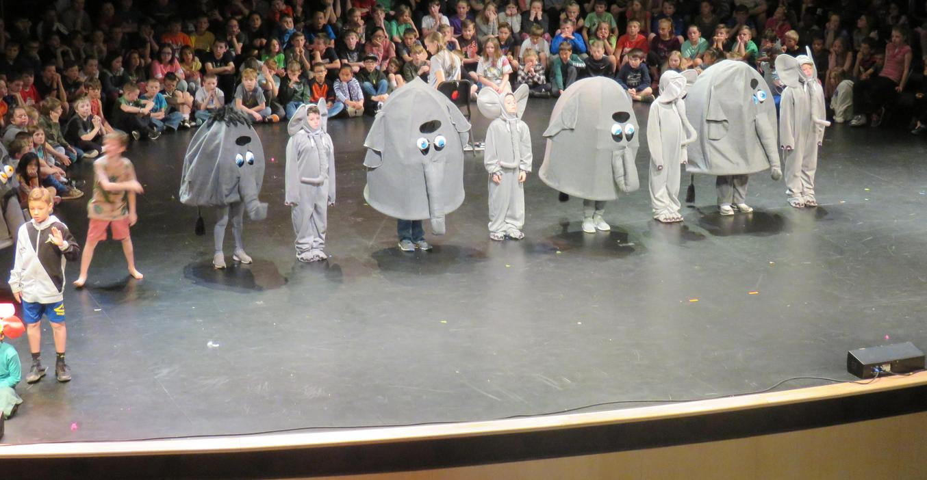 Page students perform