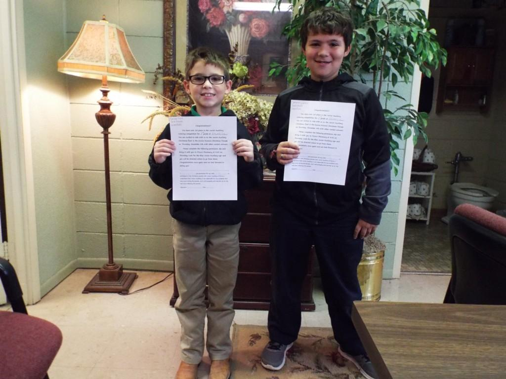 Junior Auxiliary Coloring Contest 2016