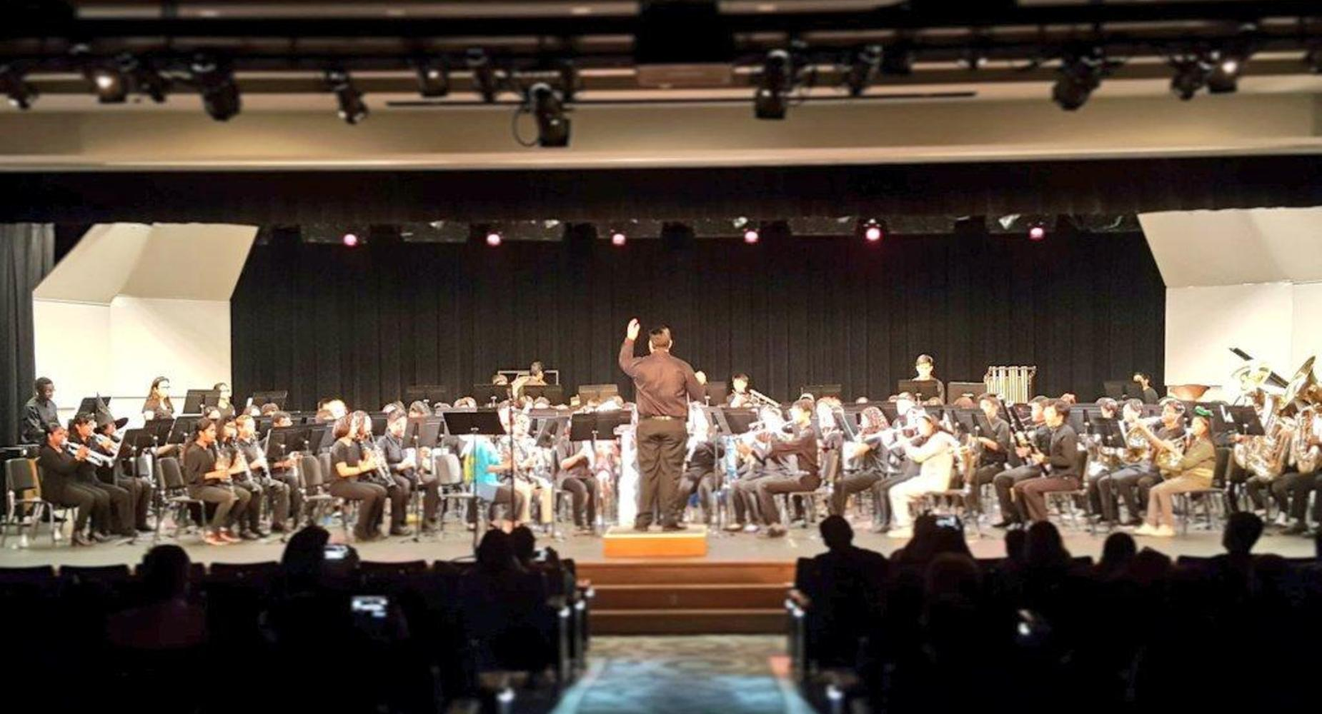 WHS symphonic band