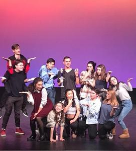 westmont theatre students