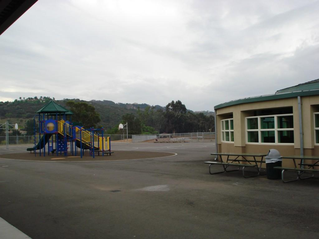 Bonsall Playground area