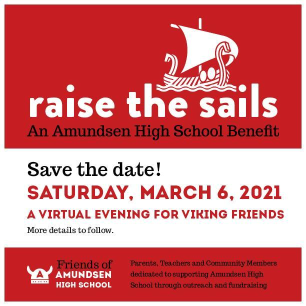 Save March 6, 2021 for FOA Raise the Sails! Featured Photo