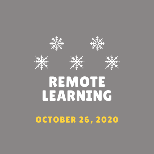Remote Learning 10/26/20! Featured Photo