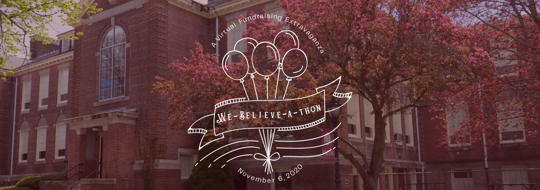 We-Believe-a-thon logo