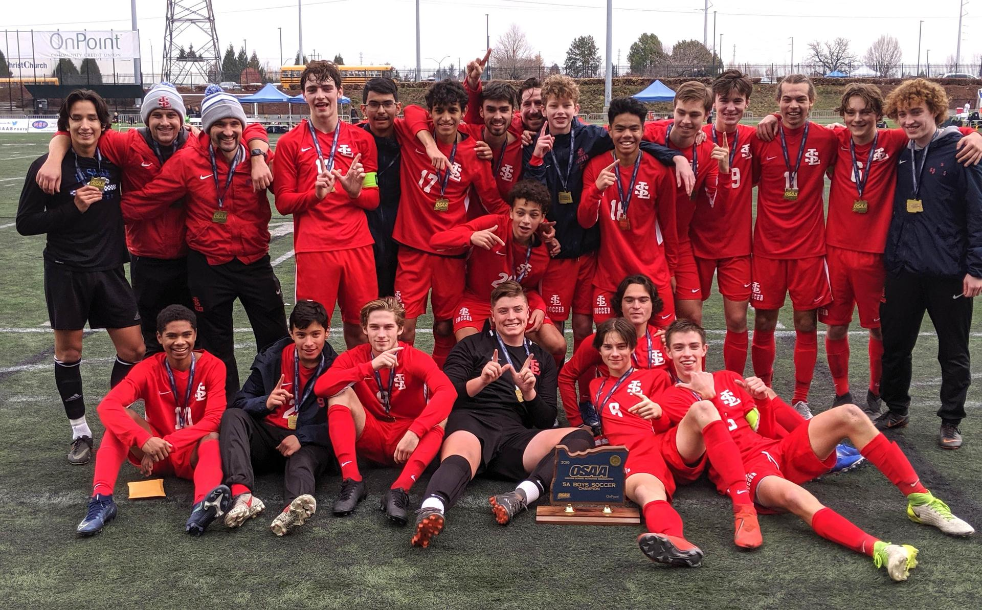 2019 boys soccer state champs