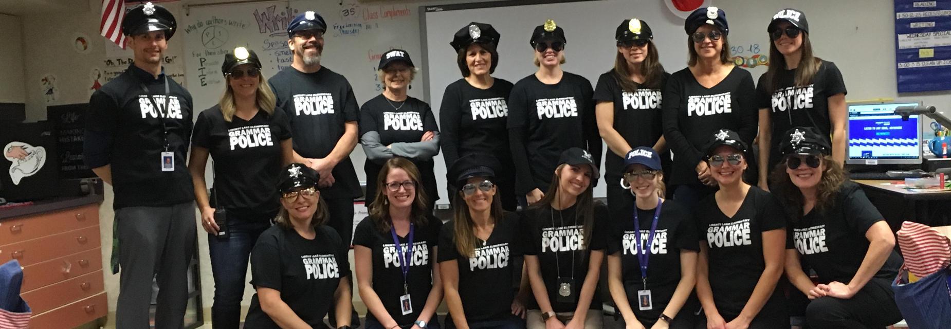 The Grammar Police- Halloween