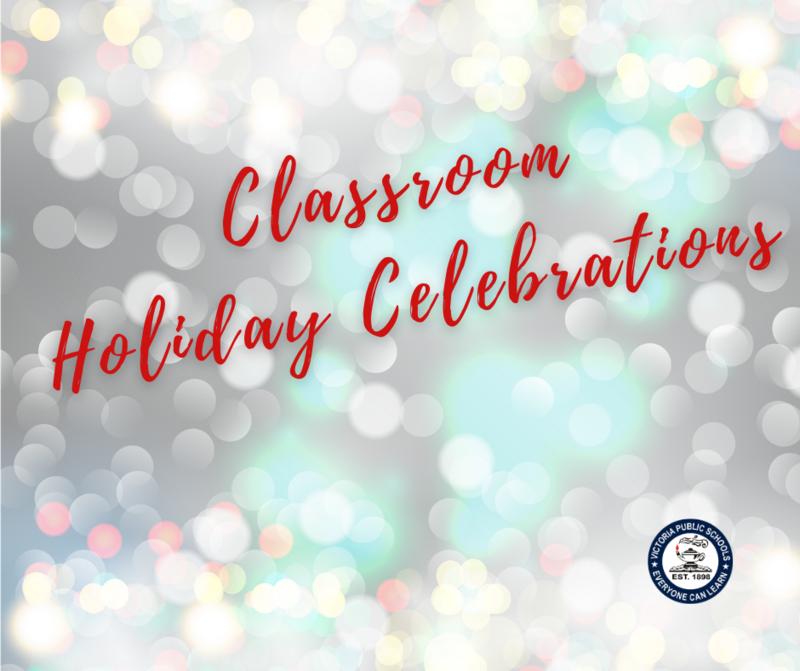 Classroom Holiday Celebration Guidelines Thumbnail Image