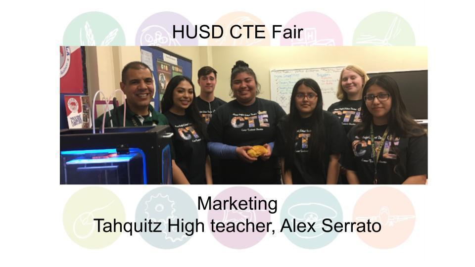 Marketing Tahquitz High teacher, Alex Serrato