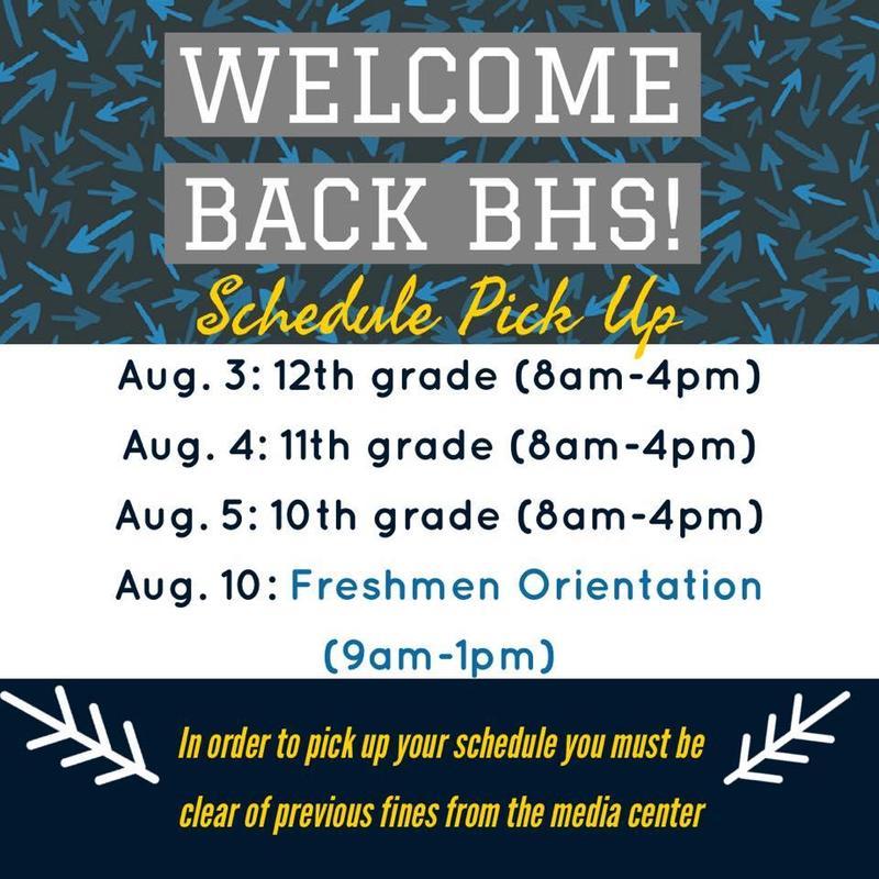 Schedule pickup, freshmen orientation set Featured Photo