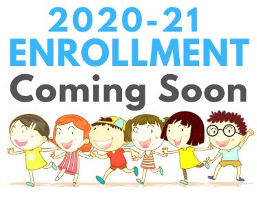 2020-21 Enrollment Coming Soon Thumbnail Image