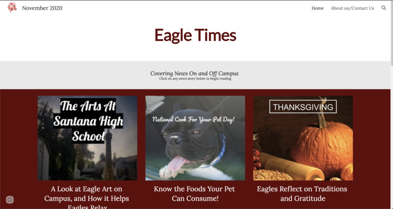 Eagles Times November Edition Featured Photo