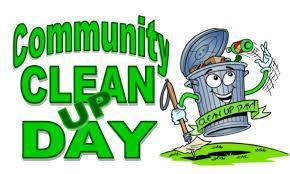 community service: clean up day