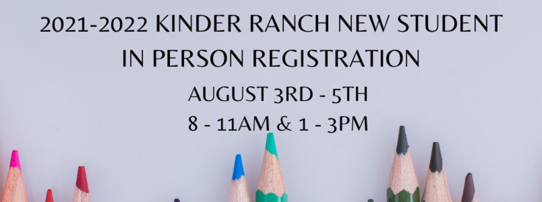 in person registration