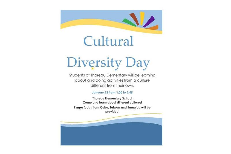 Thoreau Elem cultural day