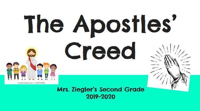 The Apostles Creed Thumbnail Image