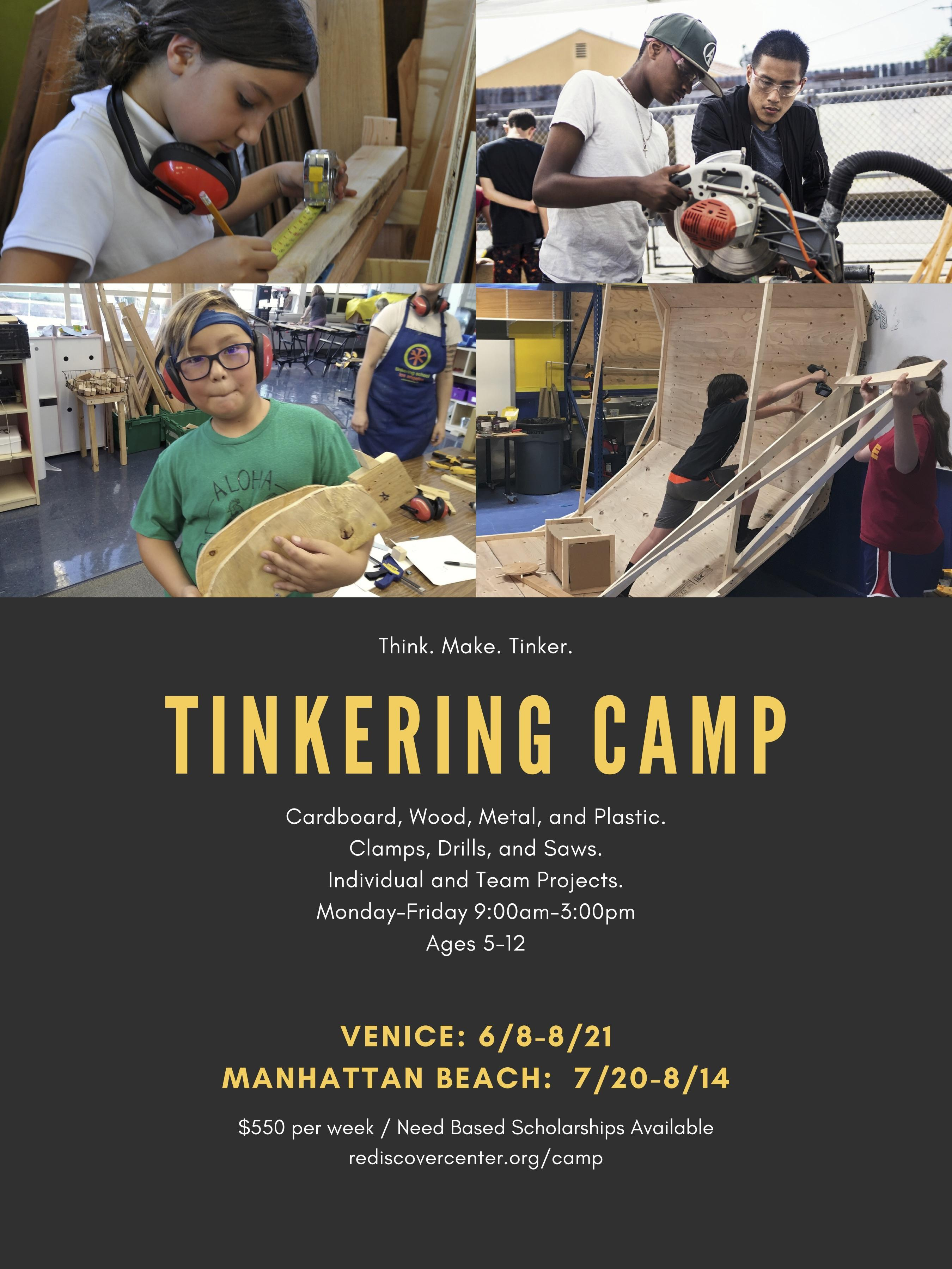 ReDiscover Center Tinkering Camp