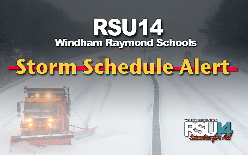 RSU14 Schools are Closed