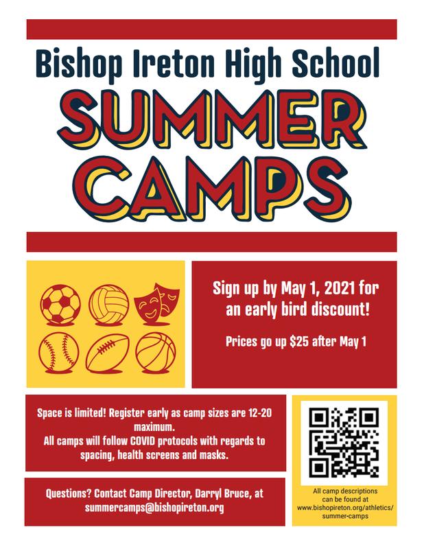 Summer Camp at Bishop Ireton Featured Photo