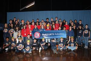 Robotics Teams at State Championship