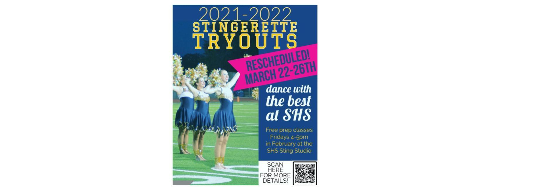 Sting tryout info