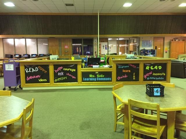 Howell Library Circulation Desk