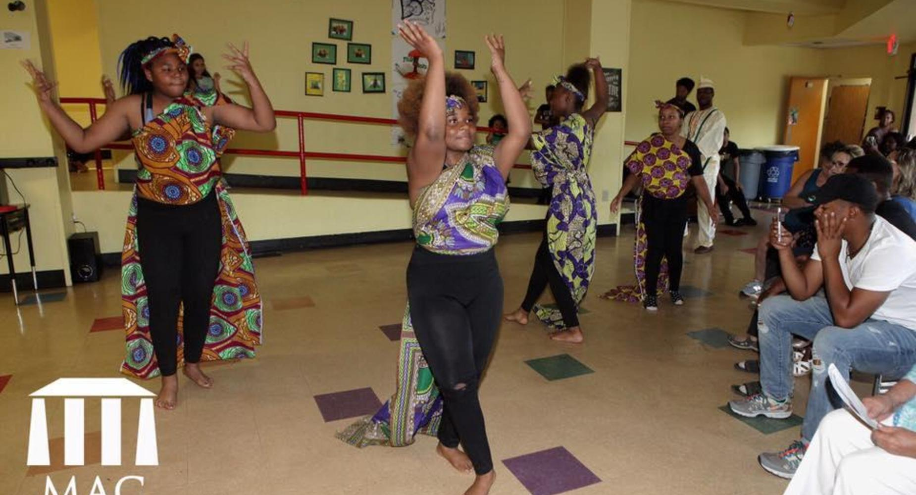 West African Dance choreographed by Sinclair Jamison