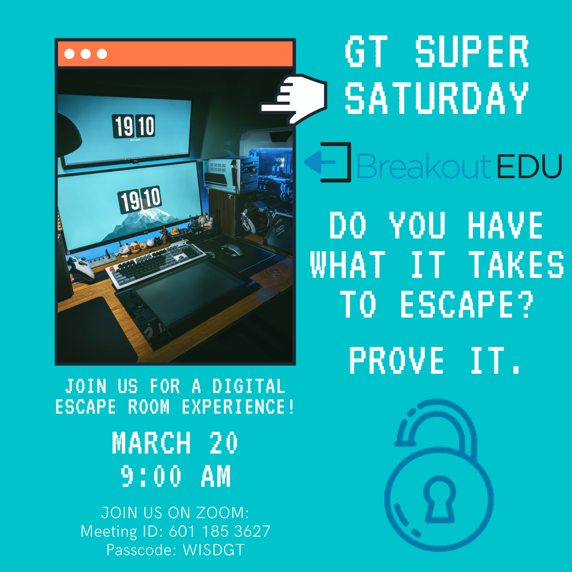 Virtual GT Super Saturday on March 20 at 9