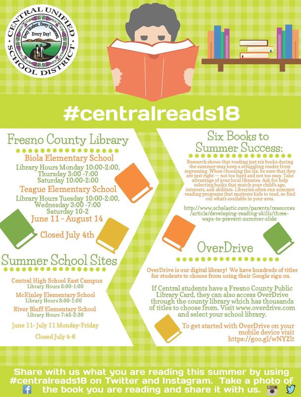 Central Reads 18