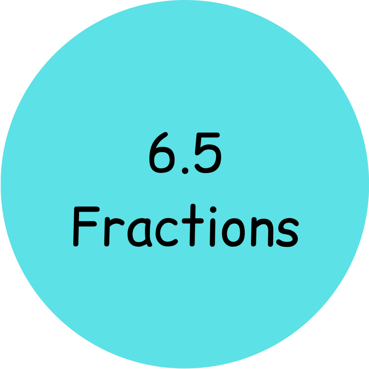 6.5 Fractions