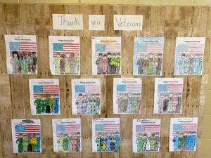 veterans day poster